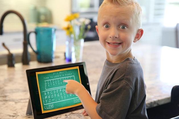 Microsoft dự định biến màn hình khóa thành trò chơi cho trẻ em