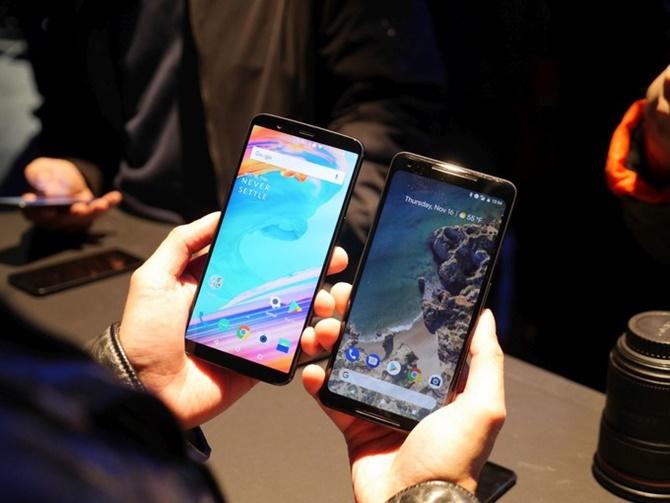OnePlus 5T vs Google Pixel 2 XL: những cái nhìn đầu tiên
