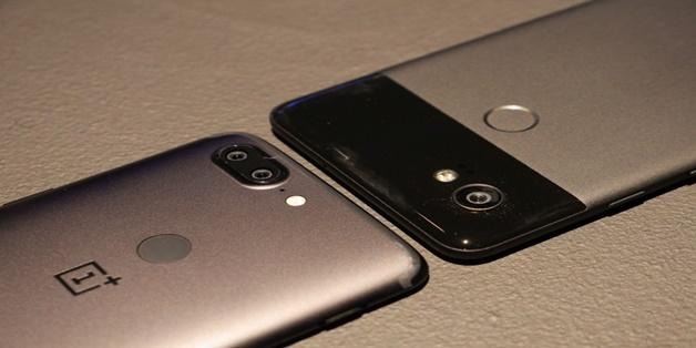 Đọ OnePlus 5T và Google Pixel 2 XL dựa theo những thông số lý thuyết