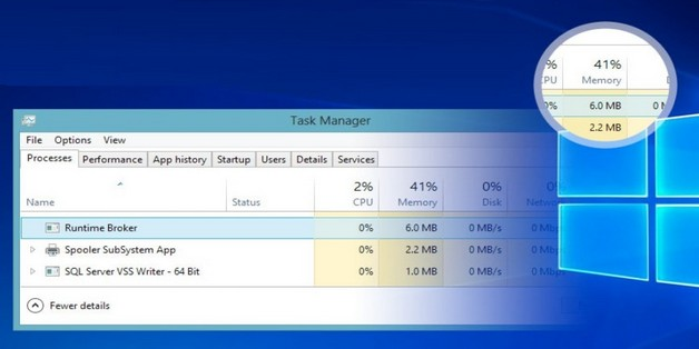 Runtime Broker là gì? Tại sao lại có tiến trình này trên Windows?