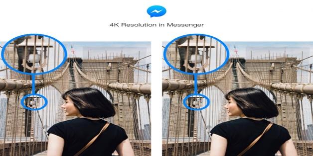 Facebook Messenger chính thức hỗ trợ gửi ảnh độ phân giải 4K