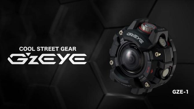 Casio giới thiệu action camera giống như G-Shock với ống kính