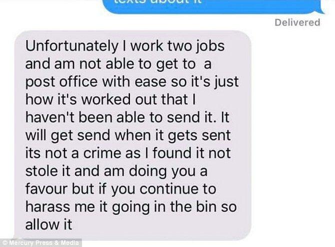 Đã trộm iPhone còn gửi tin nhắn yêu cầu khổ chủ cung cấp tài khoản iCloud ảnh 3
