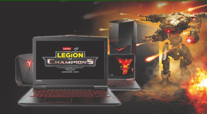Vi vu Bangkok cùng Lenovo Legion