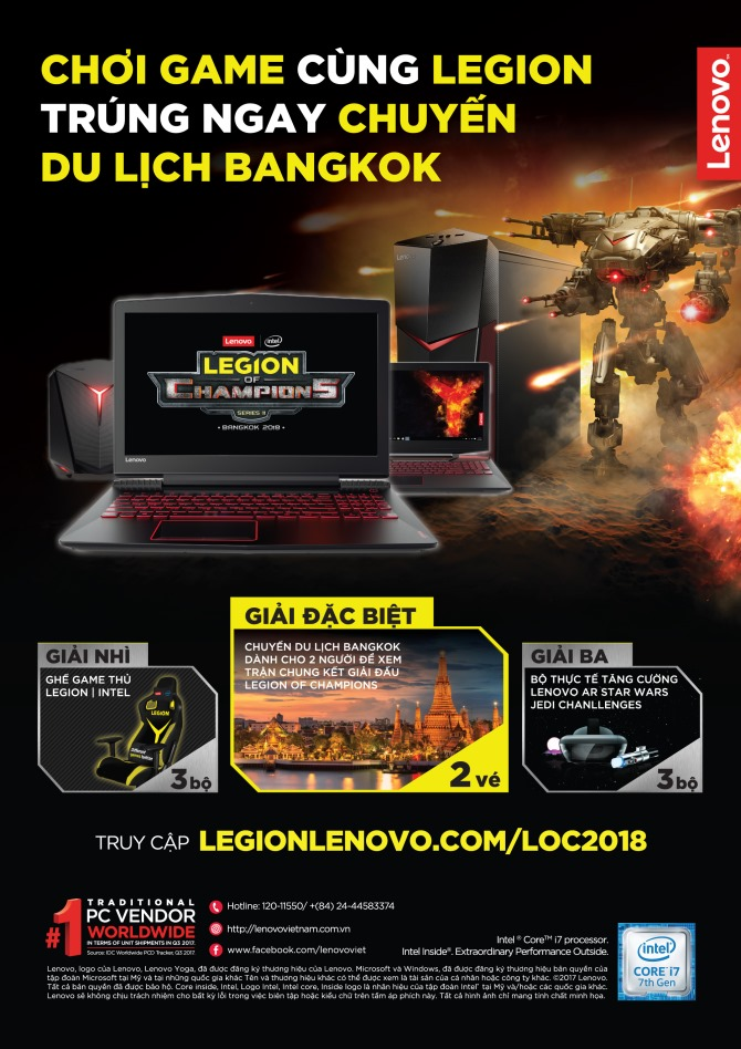 Vi vu Bangkok cùng Lenovo Legion - 212487