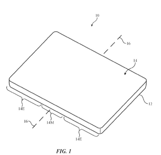 Apple đệ đơn đăng ký bằng sáng chế màn hình uốn dẻo cho iPhone ảnh 2