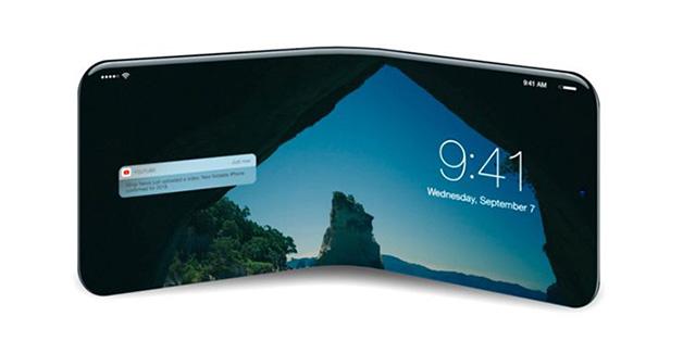 Apple đệ đơn đăng ký bằng sáng chế màn hình uốn dẻo cho iPhone