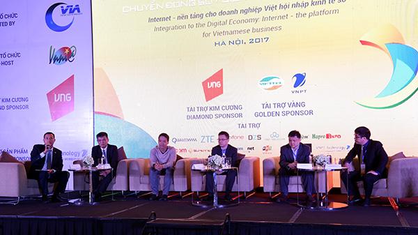 Internet Day 2017 – Chuyển động số: Xây dựng nền tảng cho DN Việt hội nhập kinh tế số