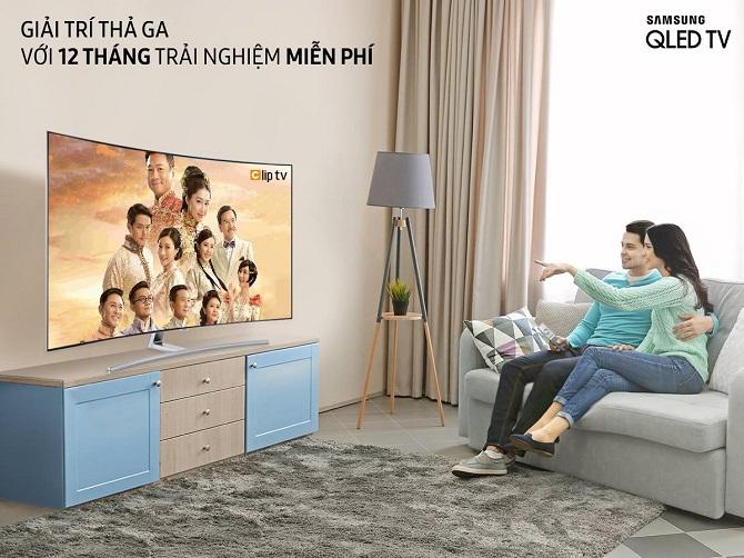 Có ngay 12 tháng trải nghiệm miễn phí Clip TV khi đăng nhập từ Smart TV Samsung