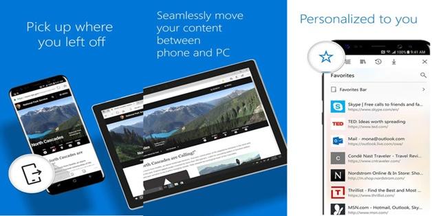 Microsoft Edge cho Android chính thức phát hành trên Google Play