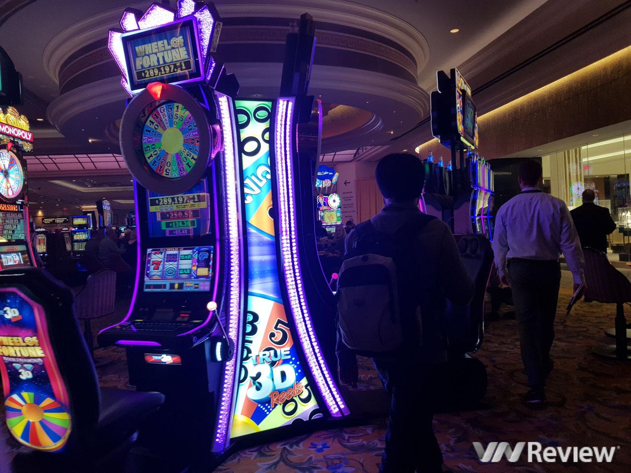 Mô phỏng của máy đánh bạc chơi trực tuyến