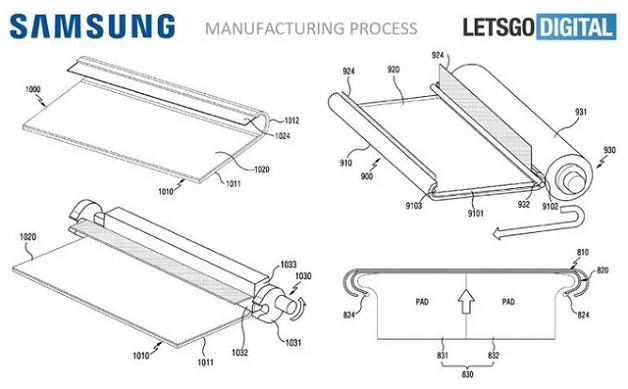 Lộ bằng sáng chế smartphone màn hình cong khác biệt của Samsung
