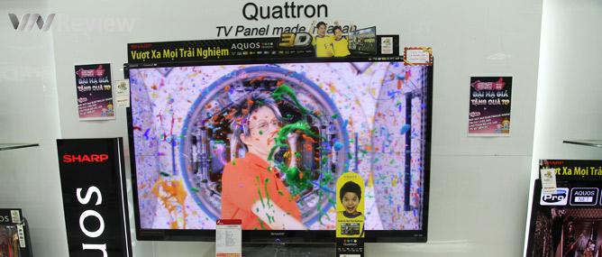 HDTV Sharp năm 2012 có gì mới?