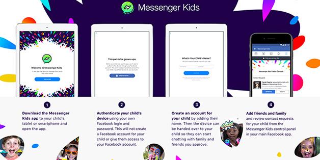Facebook ra mắt ứng dụng Messenger dành riêng cho trẻ em, dùng chung tài khoản với phụ huynh