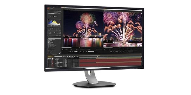 Philips tung ra màn hình 32 inch QHD, độ phủ màu 99% Adobe RGB, giá 500 USD