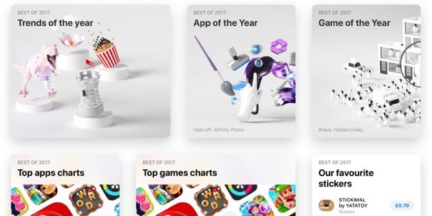Apple công bố danh sách ứng dụng/game hay nhất 2017