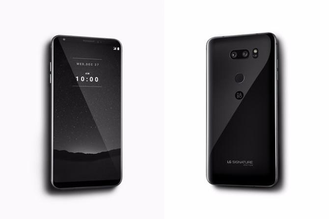 LG V30 Signature Edition: mặt lưng gốm, RAM 6 GB, Android Oreo - ảnh 1