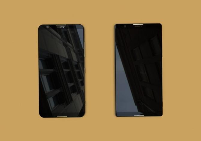 Lộ diện 2 smartphone Xperia 2018 với viền màn hình siêu mỏng - ảnh 2