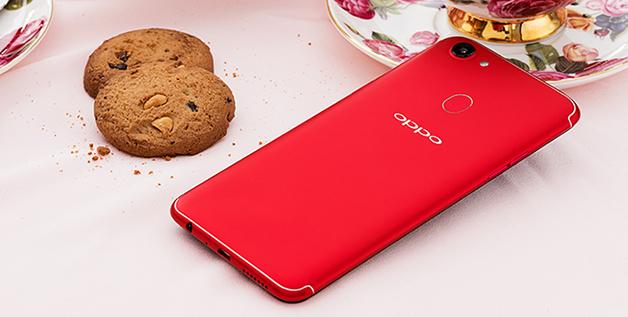 Oppo F5 ra bản màu đỏ, 6GB RAM với giá 8,99 triệu đồng