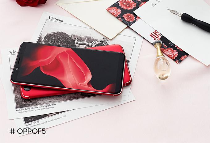 Oppo F5 ra bản màu đỏ, 6GB RAM với giá 8,99 triệu đồng - ảnh 2