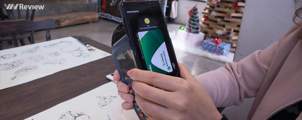 Đánh giá Samsung Pay sau 1 tháng sử dụng: Yên tâm để thẻ ngân hàng ở nhà