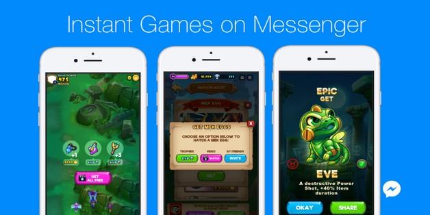 Người dùng đã có thể livestream game trên Facebook Messenger