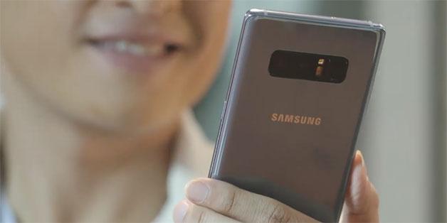 Galaxy Note 8 sắp có màu tím khói ở Việt Nam