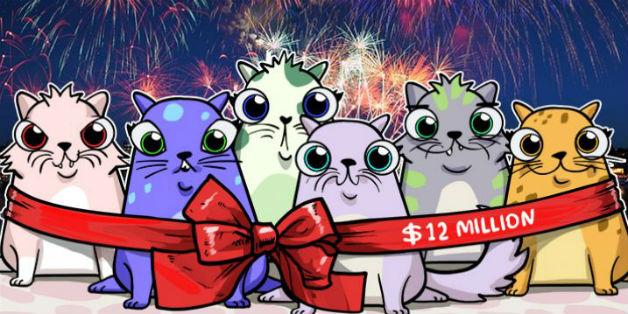 Game nuôi mèo ảo CryptoKitties đạt doanh thu 12 triệu USD có ý nghĩa gì với bitcoin?