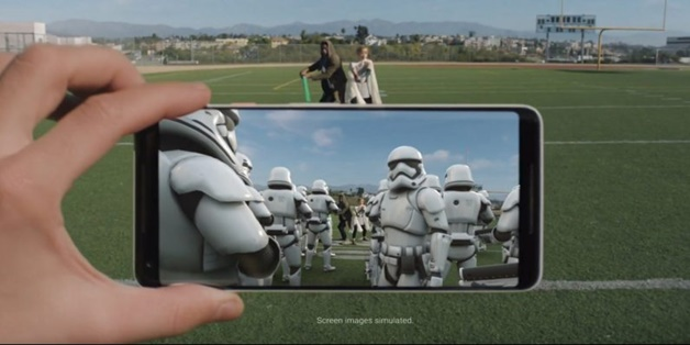 Google AR Stickers đã có sẵn cho Pixel 2 và Pixel 2 XL