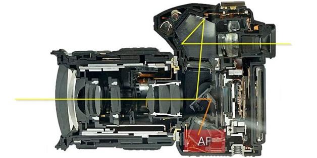 Hệ thống lấy nét theo pha trên máy ảnh DSLR hoạt động như thế nào?