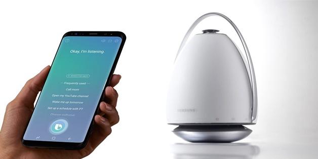 Samsung sẽ ra mắt loa thông minh tích hợp Bixby vào đầu năm 2018
