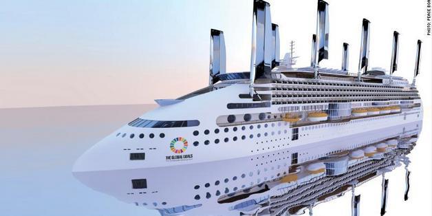 Tàu du lịch xanh nhất thế giới sẽ hạn chế ô nhiễm môi trường bằng cách nào?