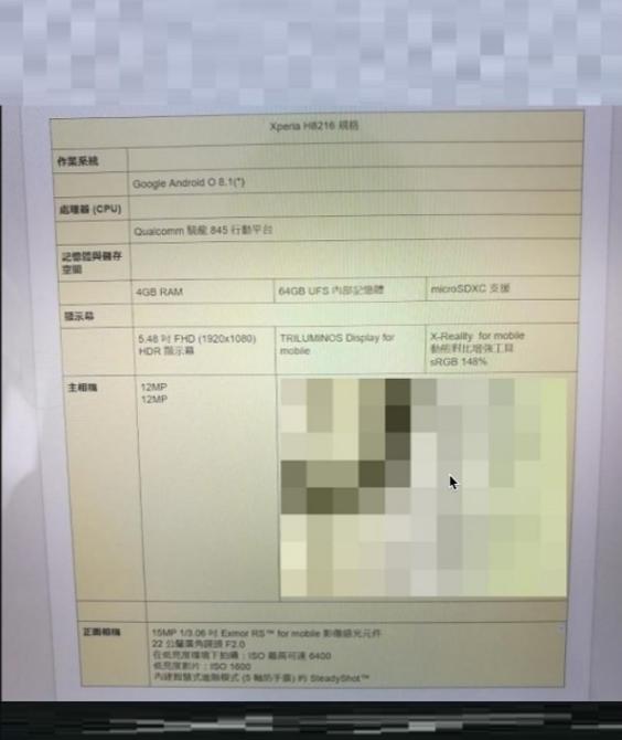 Thêm một smartphone mới của Sony lộ cấu hình, có thể là bản nâng cấp của Xperia XZ1 ảnh 1
