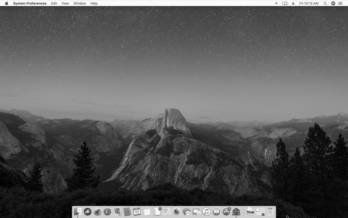 Hướng dẫn chuyển màu màn hình máy tính sang trắng đen
