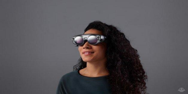 Mãn nhãn với màn trình diễn kính thực tế ảo đầu tiên của Magic Leap, đối thủ nặng ký của HoloLens
