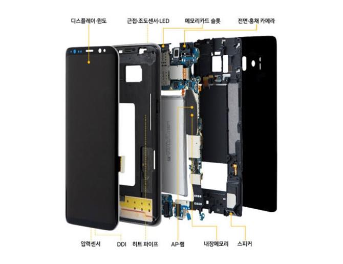 Galaxy S9 và S9+ được phát hành vào đầu tháng 3 với các bo mạch chủ xếp chồng lên nhau