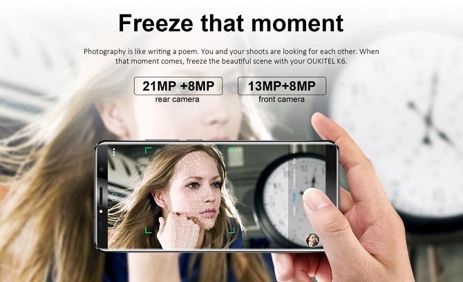 Smartphone 4 camera của Oukitel bắt đầu tới tay người dùng