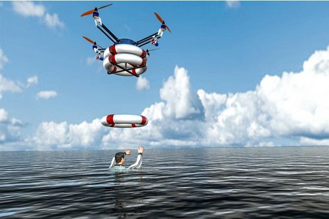 Có thể sử dụng máy bay không người lái để tìm kiếm và cứu hộ không?