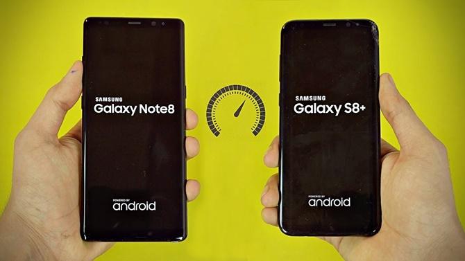 Samsung chính thức phản hồi về vụ tuột pin của Galaxy S8+, Galaxy Note8
