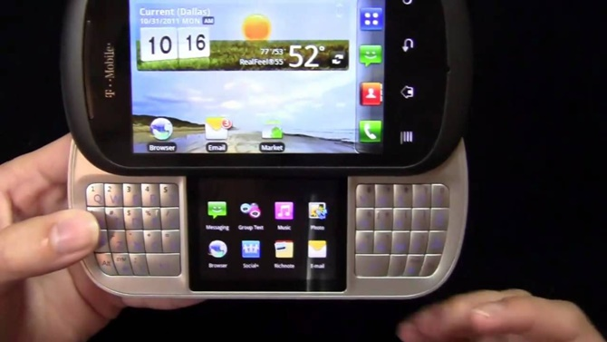 Những ý tưởng điện thoại 2 màn hình thất bại