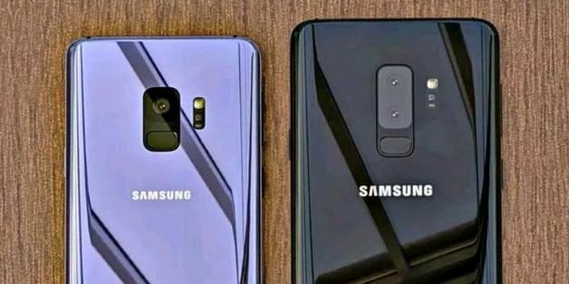 Rò rỉ thiết kế mặt lưng kính trên bộ đôi Galaxy S9 và S9+