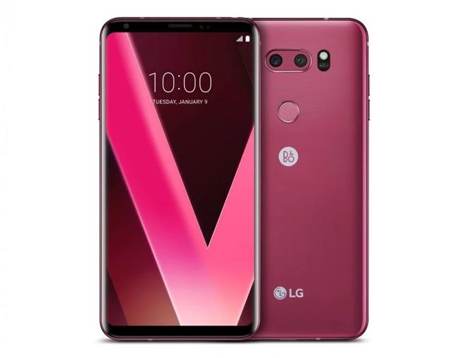 "LG ra mắt phiên bản LG V30 ""Raspberry Rose"" tại CES 2018"