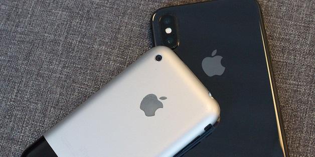 So sánh khả năng chụp ảnh của iPhone X và iPhone đời đầu