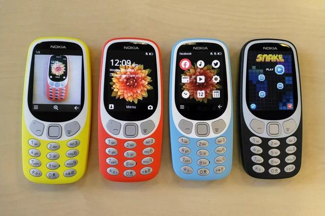 Doanh số điện thoại Nokia tăng mạnh trong quý 3/2017, dẫn đầu là Nokia 3310
