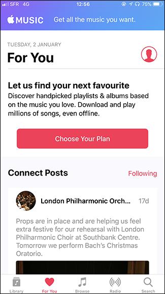 Cách loại bỏ Apple Music khỏi ứng dụng Music trên iPhone - ảnh 4