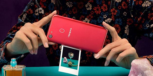 Oppo F5 có thêm phiên bản màu đỏ, giá vẫn là 6,99 triệu đồng