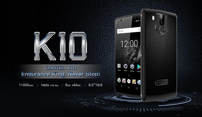 Smartphone pin 11000mAh được sạc đầy trong 170 phút
