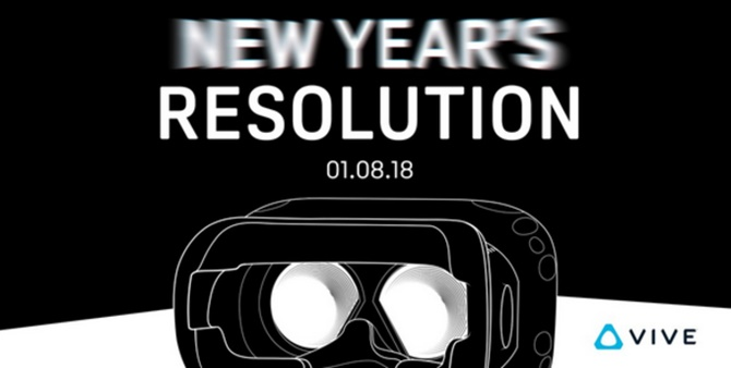 HTC tiết lộ sẽ giới thiệu thiết bị Vive mới tại CES 2018