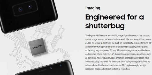 """Samsung sẽ """"làm mới"""" camera cho Galaxy S9/S9+ thế nào?"""
