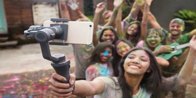 DJI giới thiệu Osmo Mobile 2: gimbal cho smartphone giá chỉ 129 USD